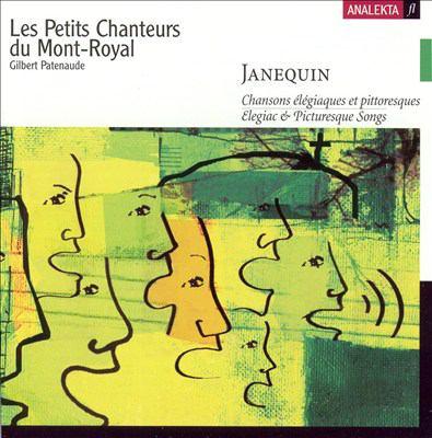 Chansons élégiaques et pittoresques = Elegiac & picturesque songs