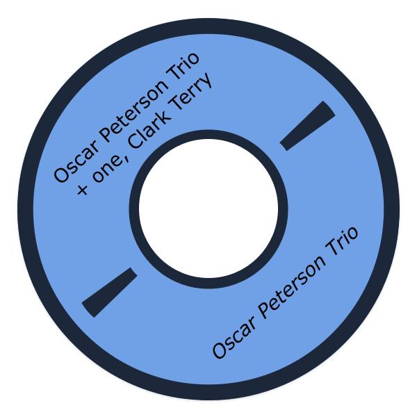Oscar Peterson Trio + one, Clark Terry
