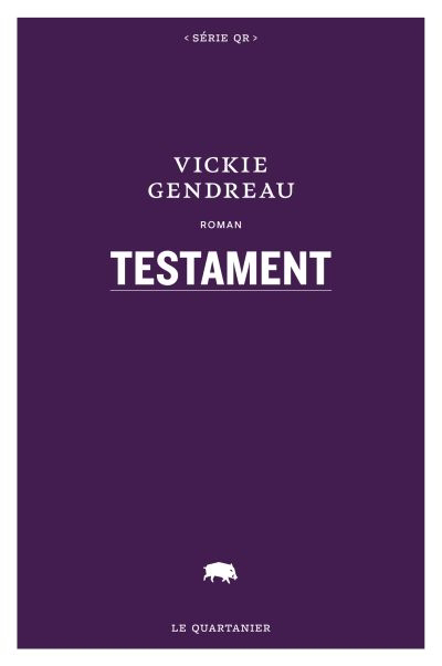 Testament : roman
