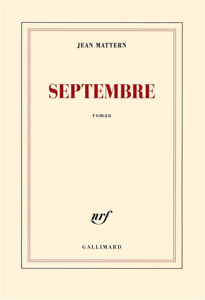 Septembre : roman