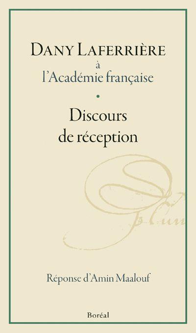 Dany Laferrière à l'Académie française