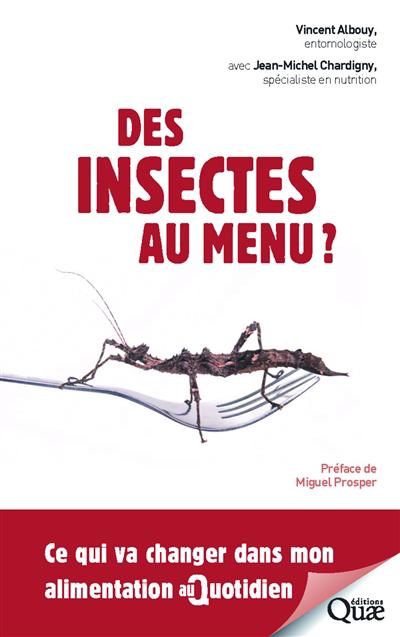 Des insectes au menu?