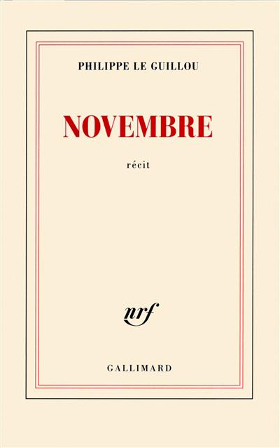 Novembre : récit
