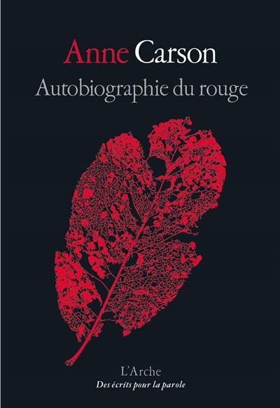 Autobiographie du rouge